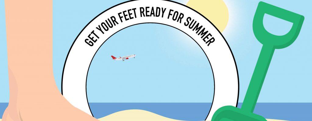 Summer Footcare – Healthy Feet
